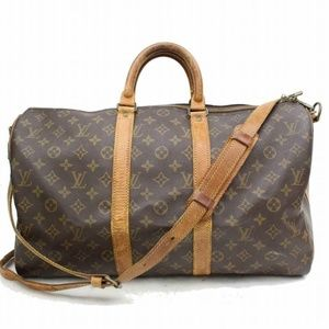 Auth Louis Vuitton Keepall Bandouliere #863L29